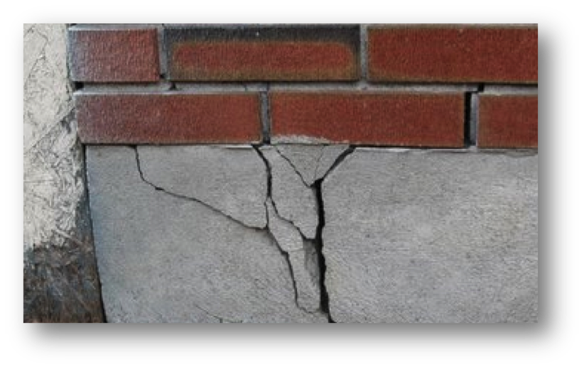 Cracked Foundation - Macomb, St. Clair, Oakland County, MI