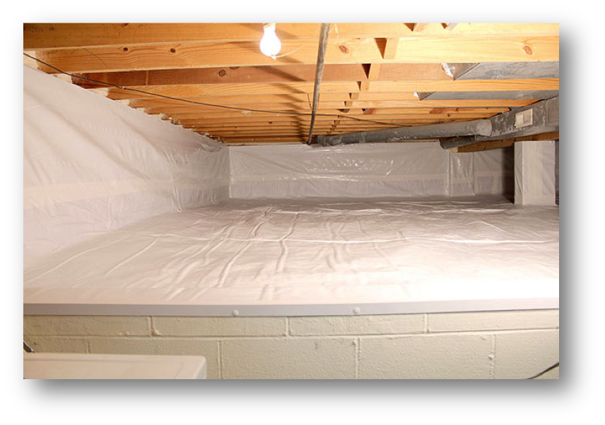 Crawl Space Encapsulation Contractors - Macomb, St. Clair, Oakland County, MI