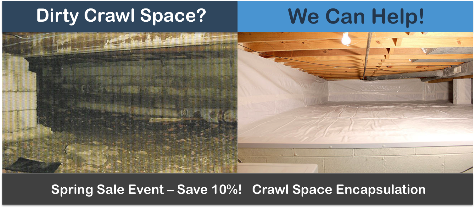 Crawl Space Encapsulation - Macomb, St Clair Oakland County