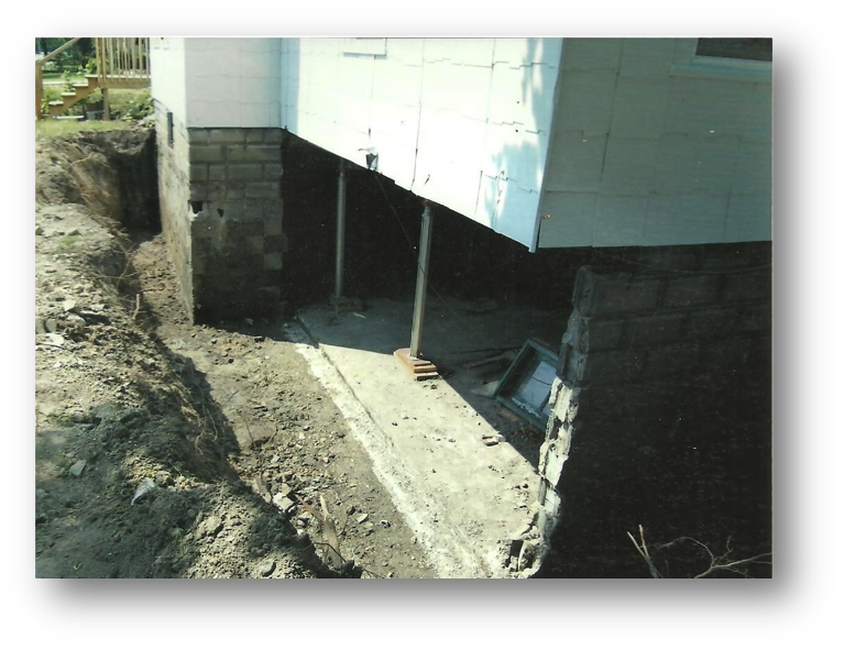 foundation repair replacement macomb st clair oakland county mi