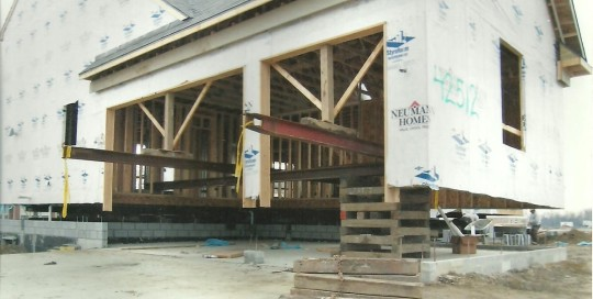 house lifting for new garage macomb mi house raising view more