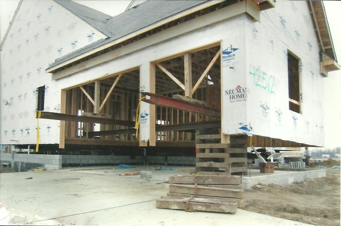 House Lifting For New Garage U2013 Macomb, MI