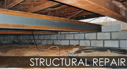 Services Structural Repair House Raising Foundation