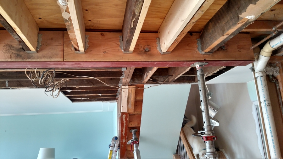 Floor Ceiling Beam Replacement - St. Clair County, MI