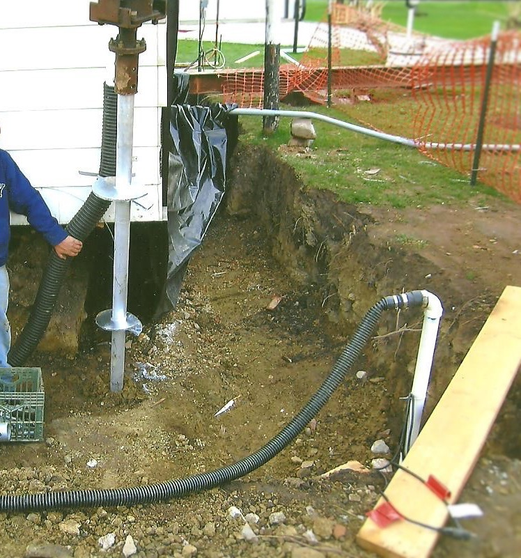 Helical Pier Foundation System - St. Clair, MI