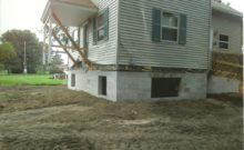 House Lifting for New Basement Install - Macomb County, MI