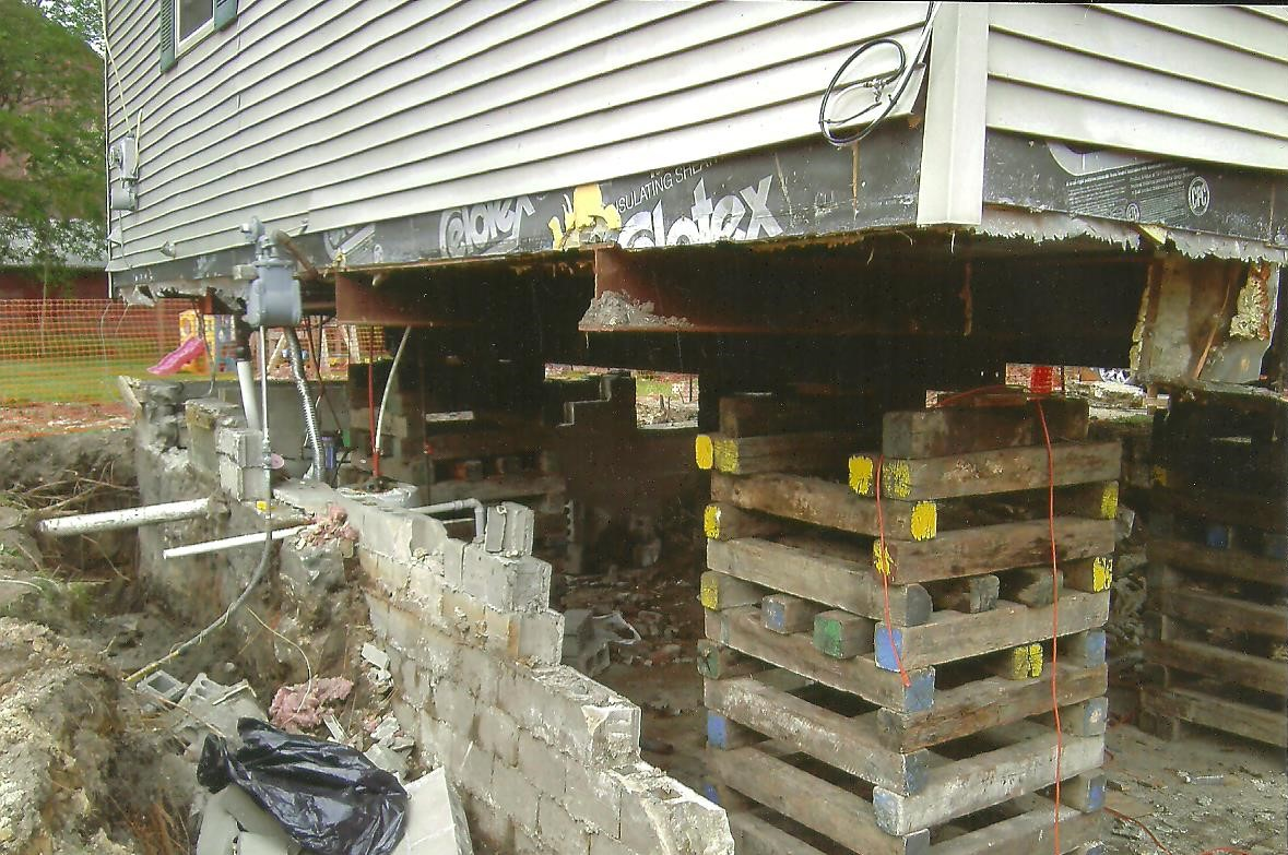 house lifting for new basement install macomb county mi 7